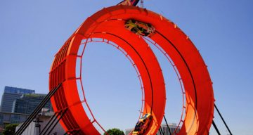 The Real Life Hot Wheels 'Double Loop' Stunt – A New World Record