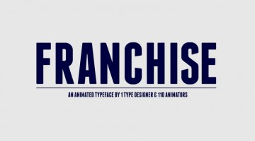 franchise-font-animated