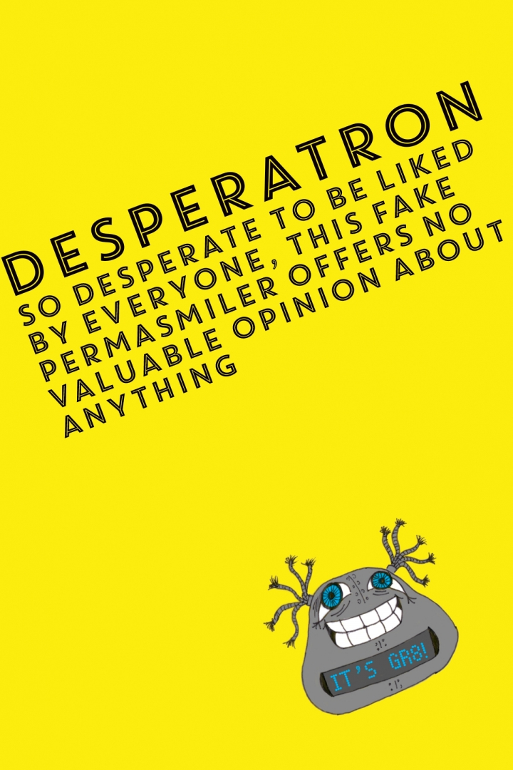 Workwankers - Types of people in every ad agency: Desperatron