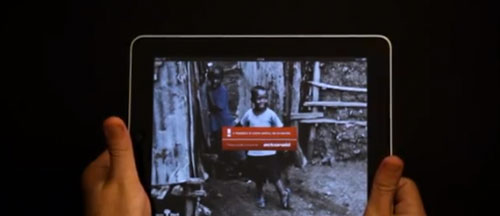 ActionAid Delivers Powerful Message Through Clever iPad Ad