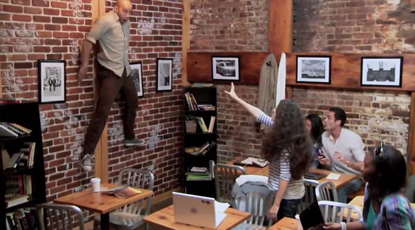 Carrie Telekinetic Coffee Shop Prank