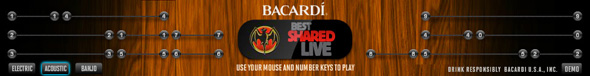 Bacardi - Shred the banner