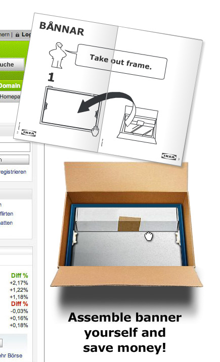 Ikea - Unbox the banner