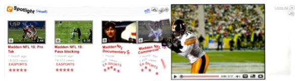 Madden NFL - YouTube Masthead