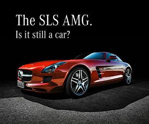Mercedes SLS AMG - Pedal