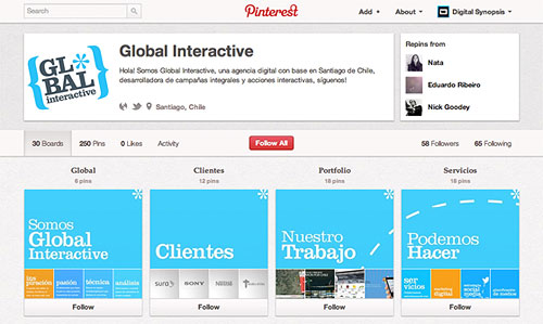 first-pinterest-website