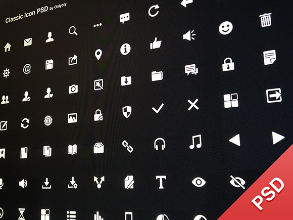 50 flat and gorgeous icon sets for the modern designer 70 classic icons