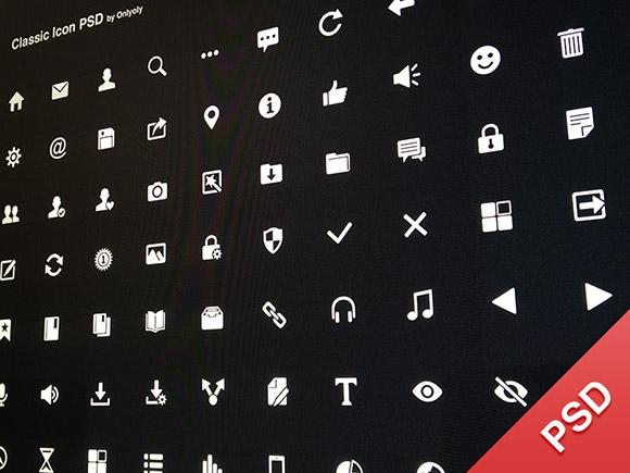 70 classic icons