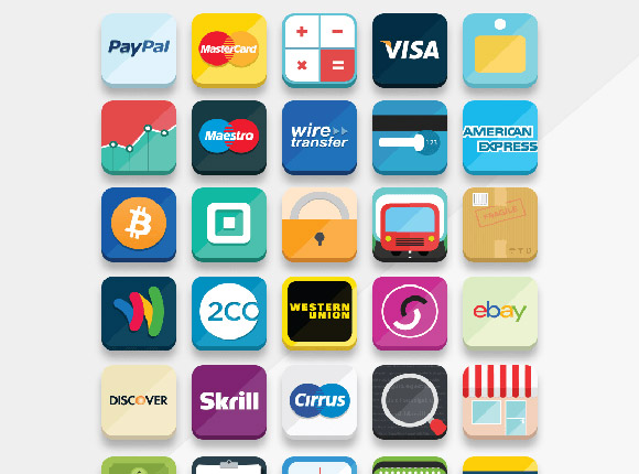 33 e-commerce icons