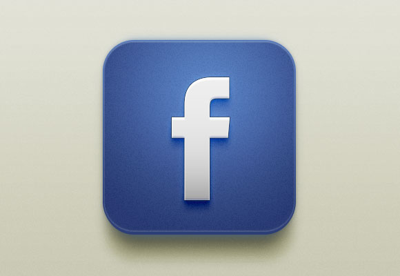 Beautiful Facebook iOS Icon