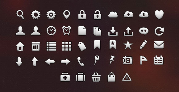 45 iOS free icons for iPhone