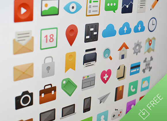 It's Flat – 48 icon set