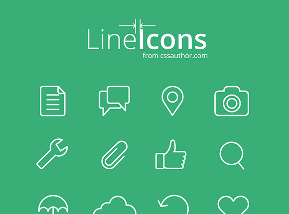 50 free flat and gorgeous icon sets for the modern designer