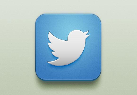 Beautiful Twitter iOS Icon