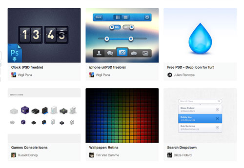 Free Icons, UI Elements, Buttons, Brushes, Templates And More