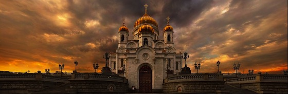 Cathedral of Christ the Saviour in Moscow by Alex Krylov (1.7 Gigapixels)