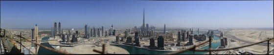 Dubai by Gerald Donovan (45 Gigapixels)