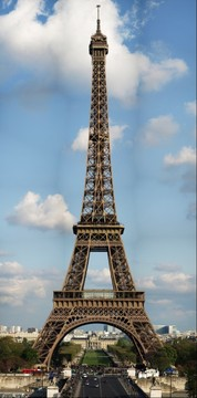 Eiffeltower Paris by Wolfgang Grossmann (0.21 Gigapixels)