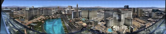 Largest Composite Image of Las Vegas by Bill Bailey (10.02 Gigapixels)