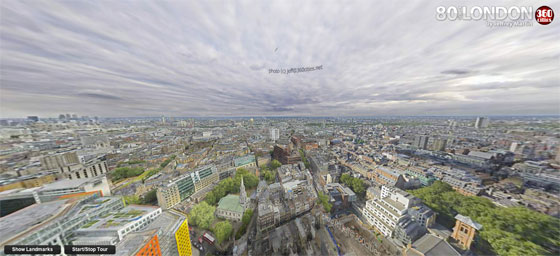 London by Jeffrey Martin (80 Gigapixels)