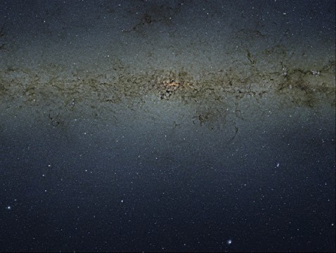 VISTA gigapixel mosaic of the central parts of the Milky Way by European Southern Observatory (8.82 Gigapixels)
