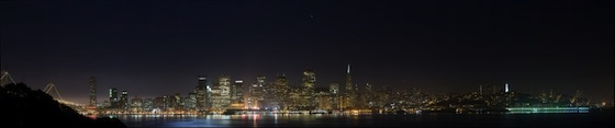 San Francisco October Night by chad pfarr (0.19 Gigapixels)