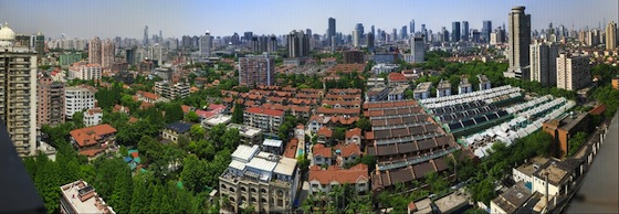 Shangai Skyline by Alfred Zhao (272 Gigapixels)