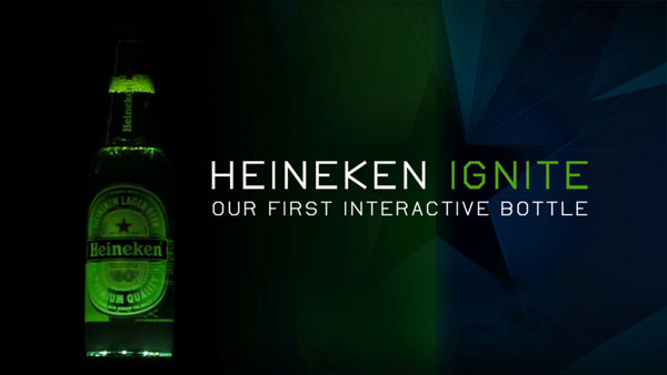 Heineken Ignite Interactive Bottle 1