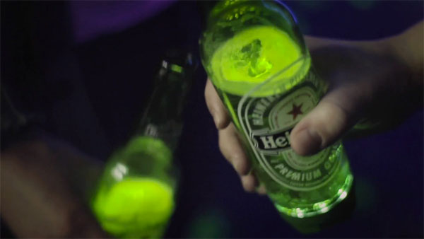 Heineken Ignite Interactive Bottle 5