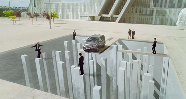 Honda Uses Optical Illusions To Tease Your Brain In Amazing New Ad