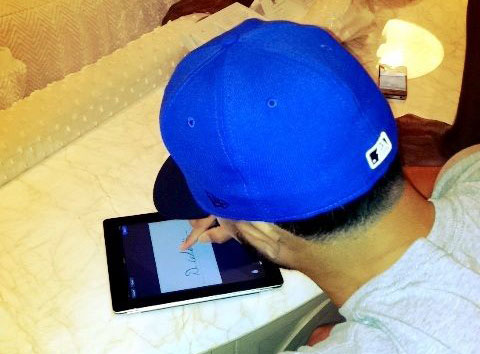 NBA Star Signs 100 Million Dollar Contract On An iPad