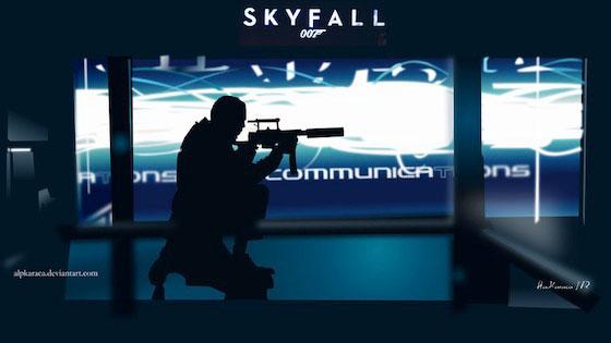 Skyfall James Bond Wallpaper