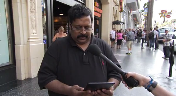 Funny Clip Shows People Reviewing The iPad, Mistaking It For The New iPhone