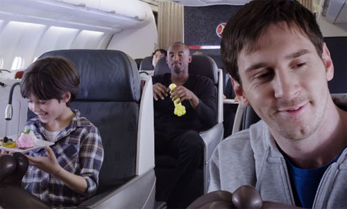 Kobe Bryant vs Lionel Messi – Turkish Airlines Ad Gets 27 Million YouTube Views In Just 5 Days