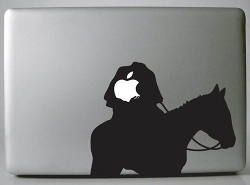 Headless Macbook Skin