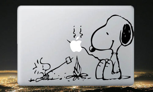 Snoopy Macbook Skin