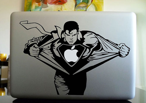 Superman Macbook Skin