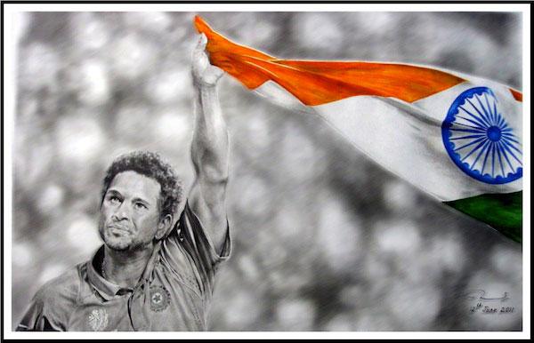 Sachin Tendulkar Fan Art # 10