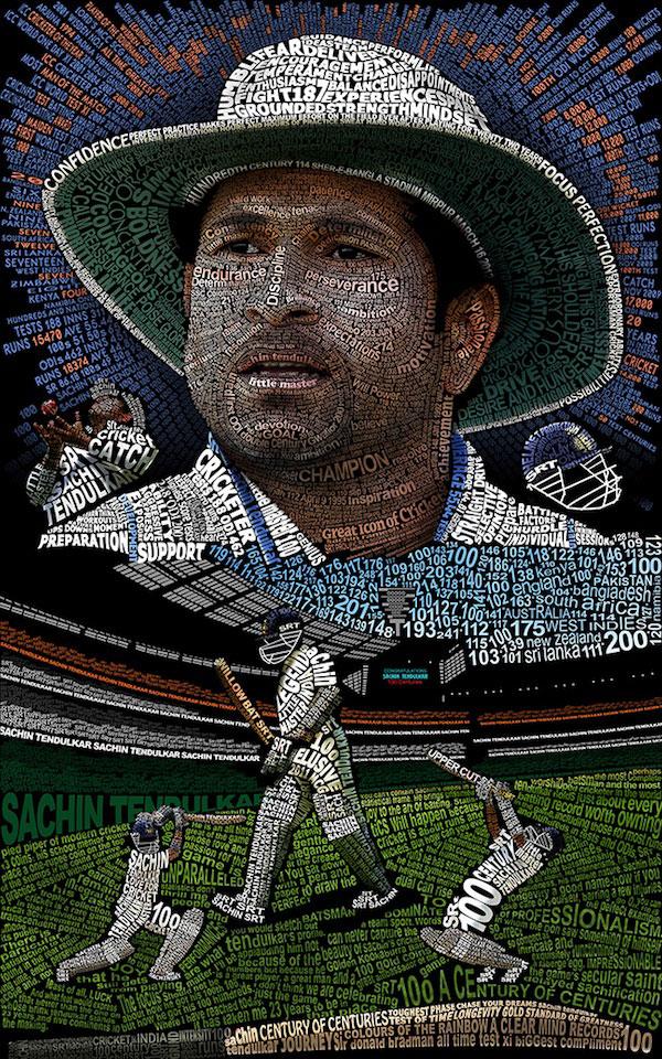 Sachin Tendulkar Fan Art # 2