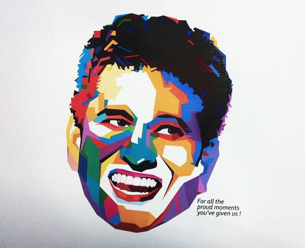 Sachin Tendulkar Fan Art # 3