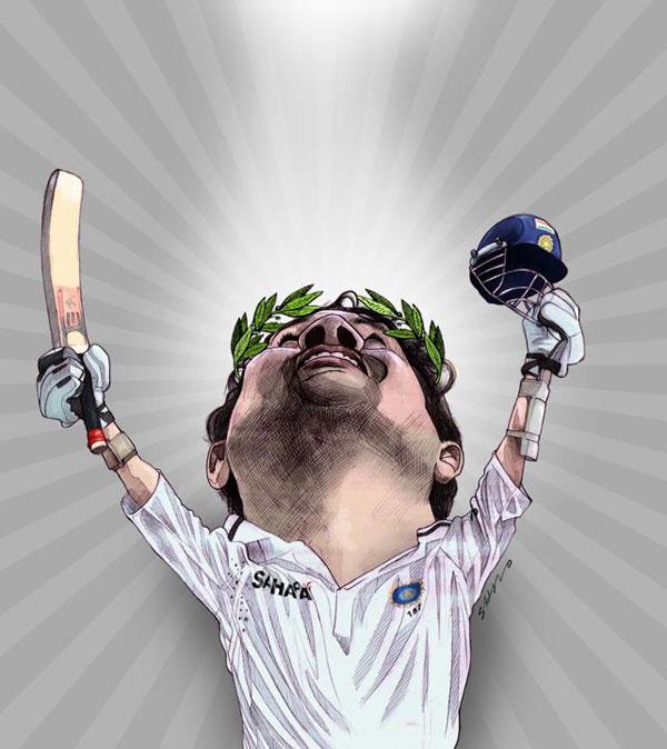 Sachin Tendulkar Fan Art # 4