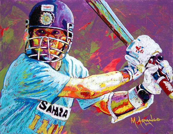 Sachin Tendulkar Fan Art # 8