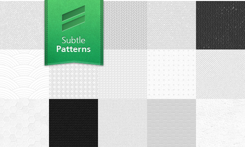 Subtle Patterns: A Free Collection of High Quality Textures