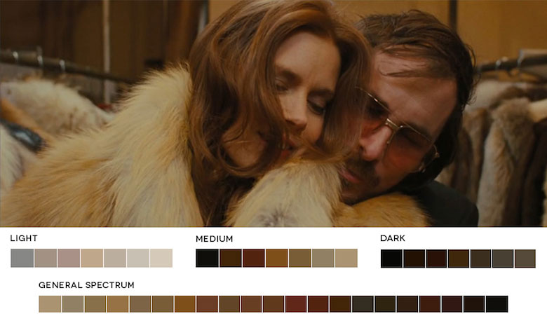 American Hustle – Color Palette