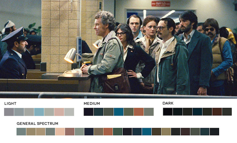 Argo – Color Palette