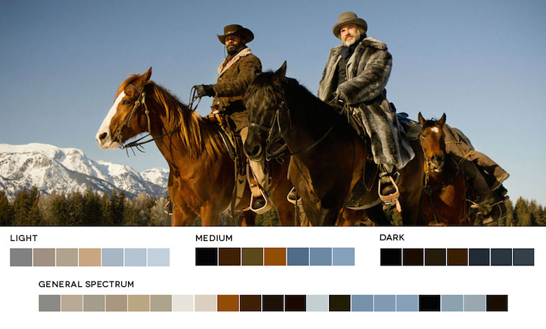 Django Unchained – Color Palette