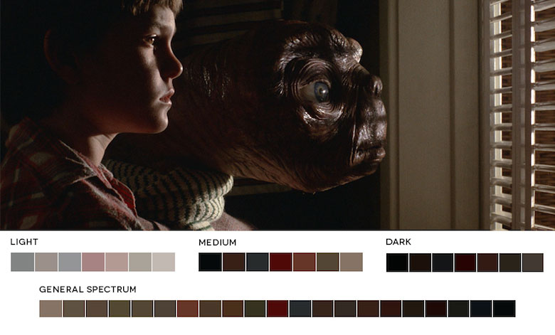 ET – Color Palette
