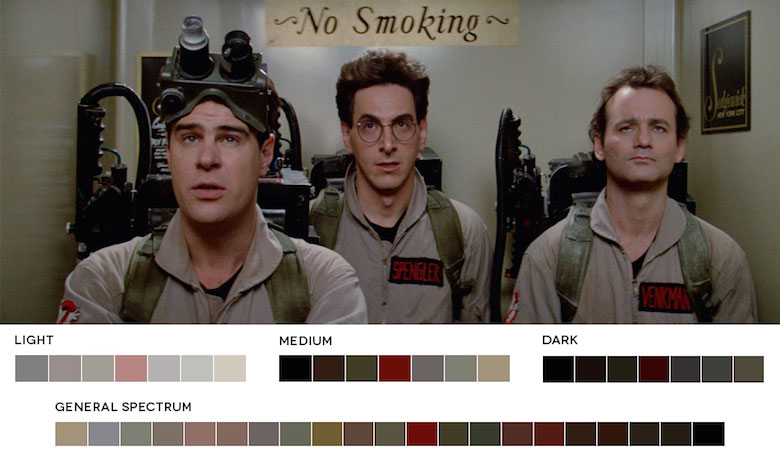 Ghostbusters – Color Palette