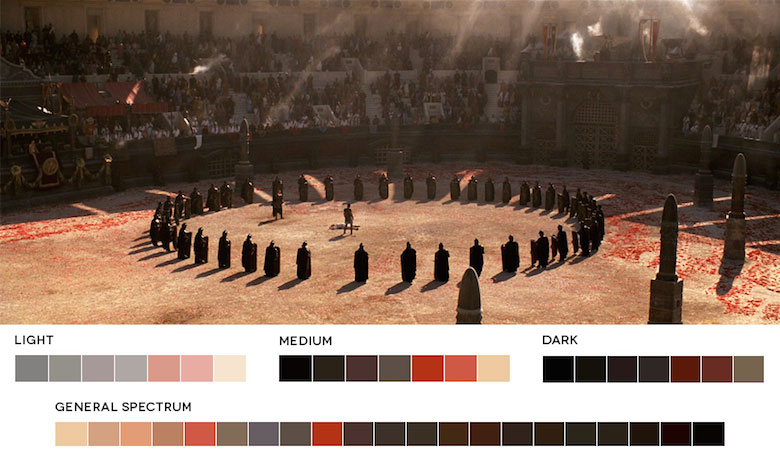 Gladiator – Color Palette