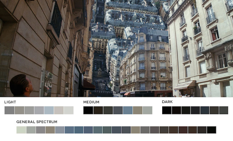 Inception - Color Palette